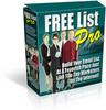 Thumbnail **Free List Pro** Website Script, Bonuses,and MRR