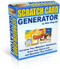 Thumbnail **Scratch Card Generator Software**With Master Resale Rights