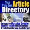 **Create Your Own Article Directory** Special Resell Rights