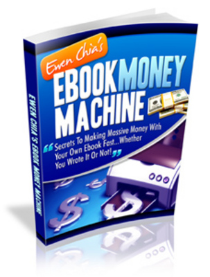 Product picture **Ebook Money Machine by Ewen Chia - w/ MMR**