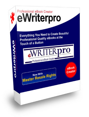 Product picture **Ewriter Pro Professional Ebook Creator w/MRR**