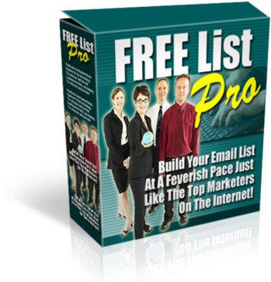 Product picture **Free List Pro** Website Script, Bonuses,and MRR