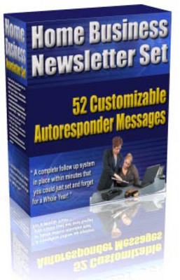 Product picture *New* Home Business Newsletter Set Plus Super Bonuses ! MMR