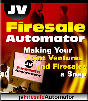 Product picture **Jv Firesale Automator**With Master Resell Rights