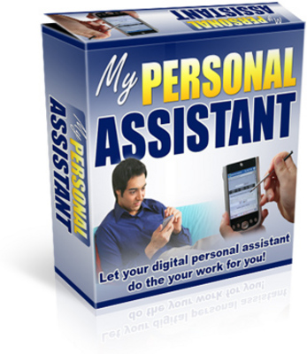 Product picture *My Personal Assistant Software*w/MMR-personal ass. does it