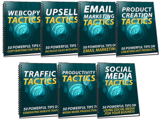 Product picture **350 Powerful Sales And Marketing Tactics**w/MMR