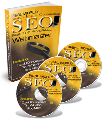 Product picture **Seo For The Average Webmaster**Audio/MP3 Course With Mrr