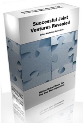 Product picture **Successful Joint Ventures Revealed**JV The Correct Way