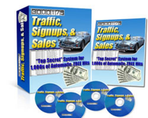 Product picture *Traffic,signups & Sales*Get 1000s Of Automatic Free Traffic