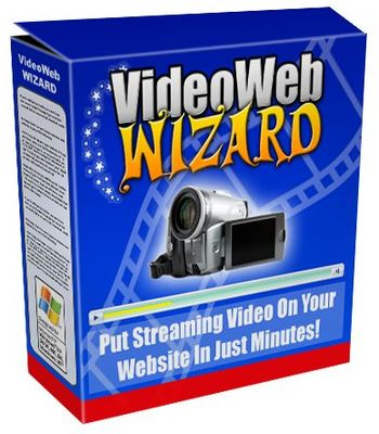 Product picture **Video Web Wizard Software**Streaming Videos On Your Site