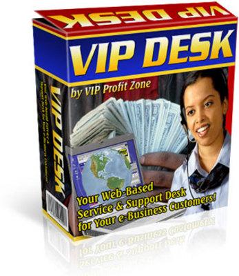 Product picture *Vip Desk* Web Based Customer Support & Service Desk w/MMR
