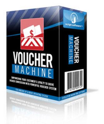 Product picture *Voucher Machine Software* Voucher Creator Software w/RR