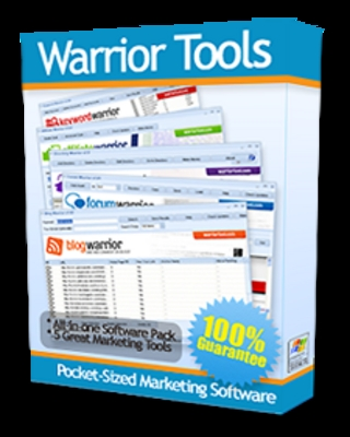 Product picture *Warrior Tools* 5 Tops Internet Marketing Tools w/Mrr