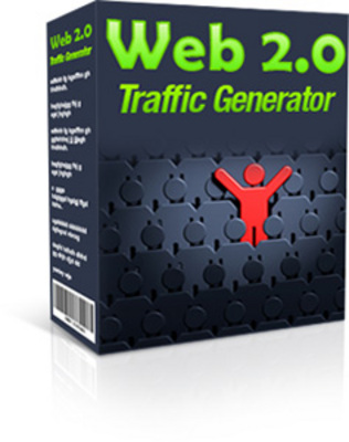 Product picture *Web 2.0 Traffic Generator* Web 2.0 Traffic Software w/MRR
