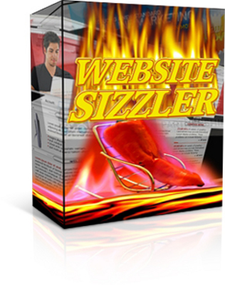 Product picture *Website Sizzler*-Software Create Content Rich Websites Fast