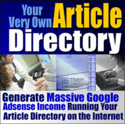 Product picture **Create Your Own Article Directory** Special Resell Rights