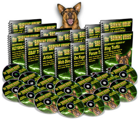 Product picture *The Barking Videos* Web Traffic Video Tutorials/MRR